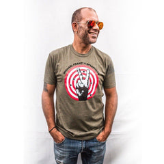 Michael Franti - Peace Target Unisex T-Shirt (XL ONLY)