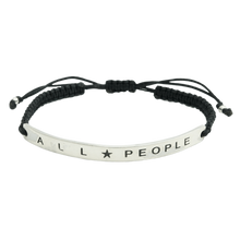 Michael Franti - Sterling Silver All People Bracelet