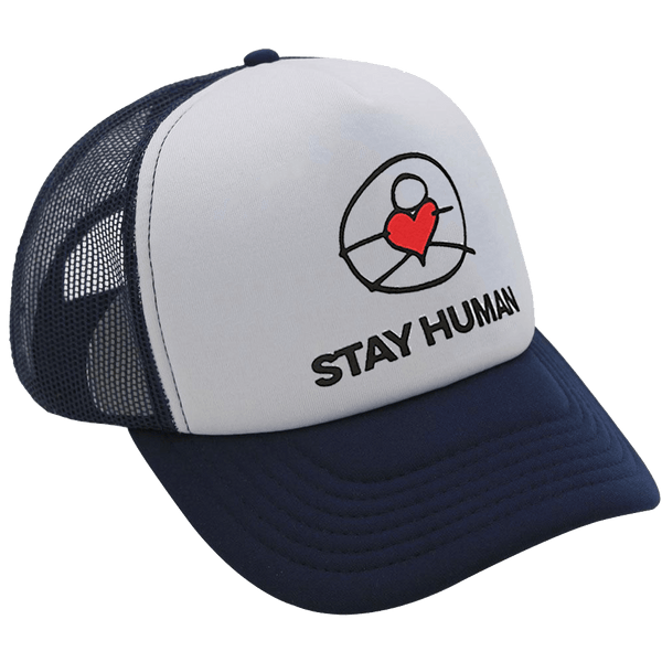 Michael Franti - Stay Human Trucker Hat