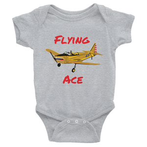 """Flying Ace"" Warbird Infant Bodysuit FREE SHIPPING!"