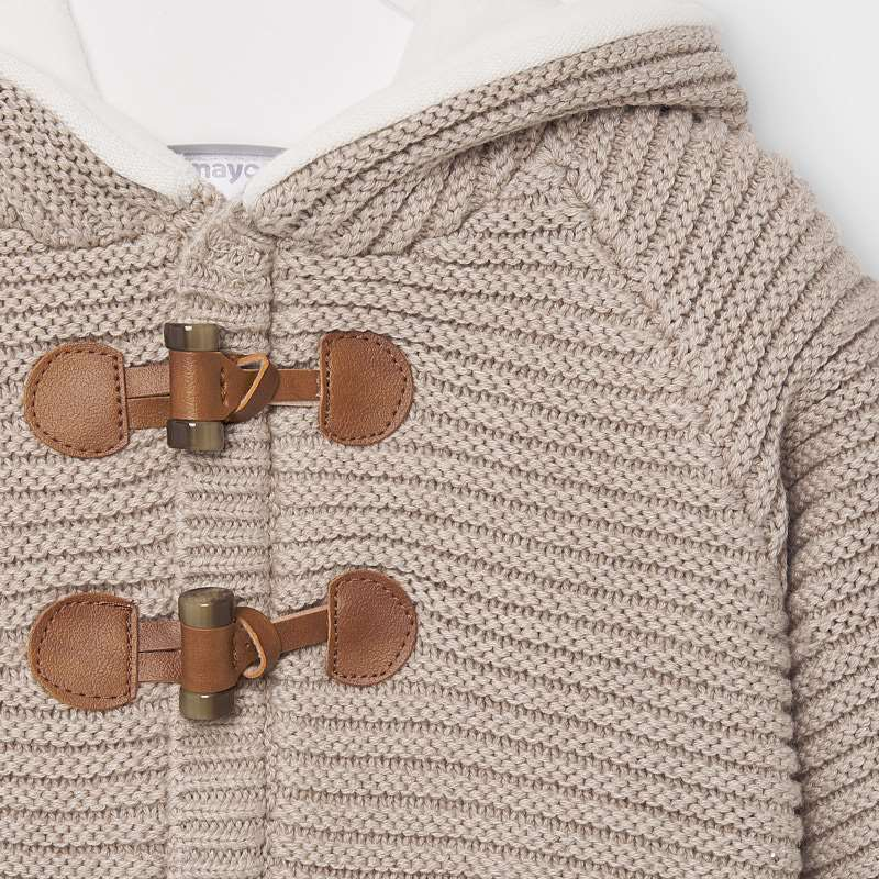 Knit Toggle Sweater Jacket