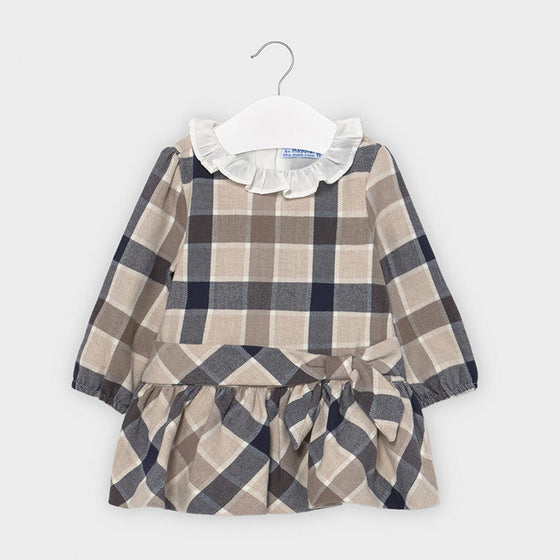Adrian East online Burberry Style Plaid Dress