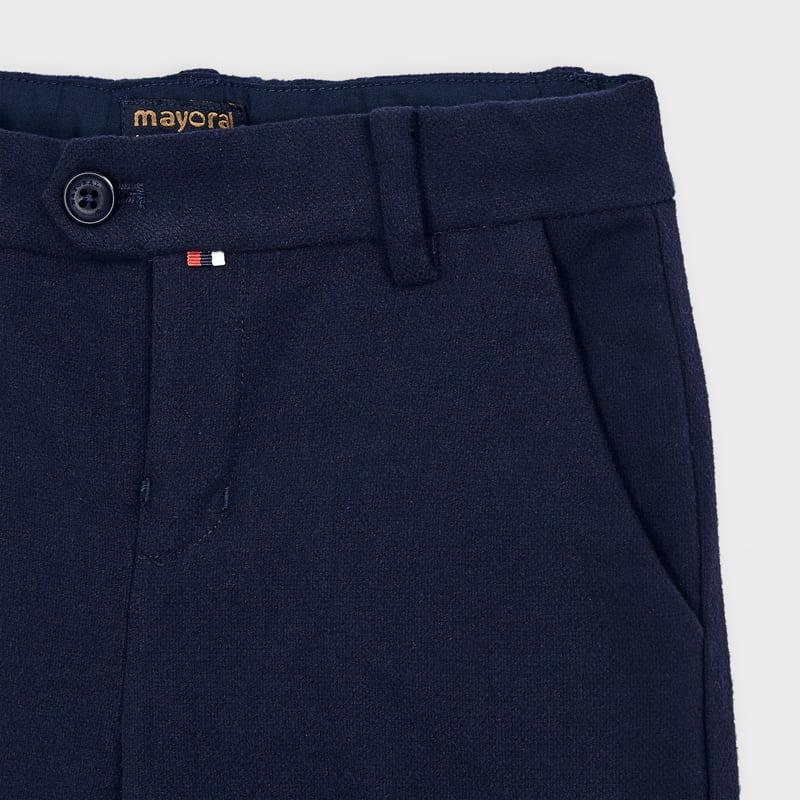 Twill Navy Dress Pants