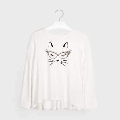 Adrian East online girl Cat Shirt w/ Fur Vest and Pants