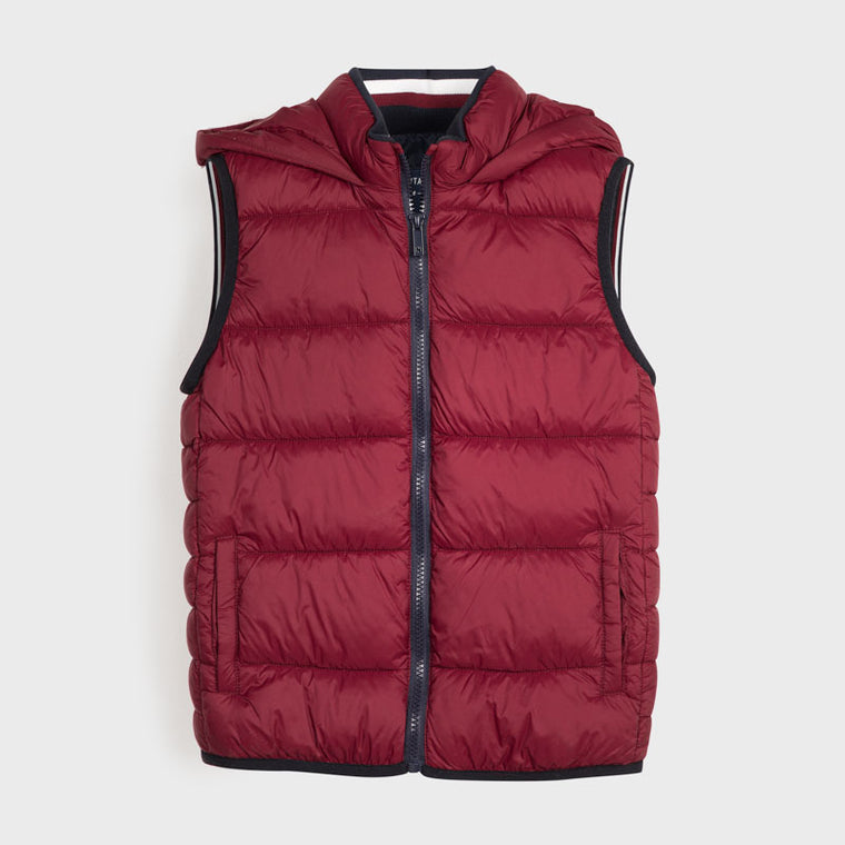 Adrian East online Thermal Quilted Channel Vest w/Hood