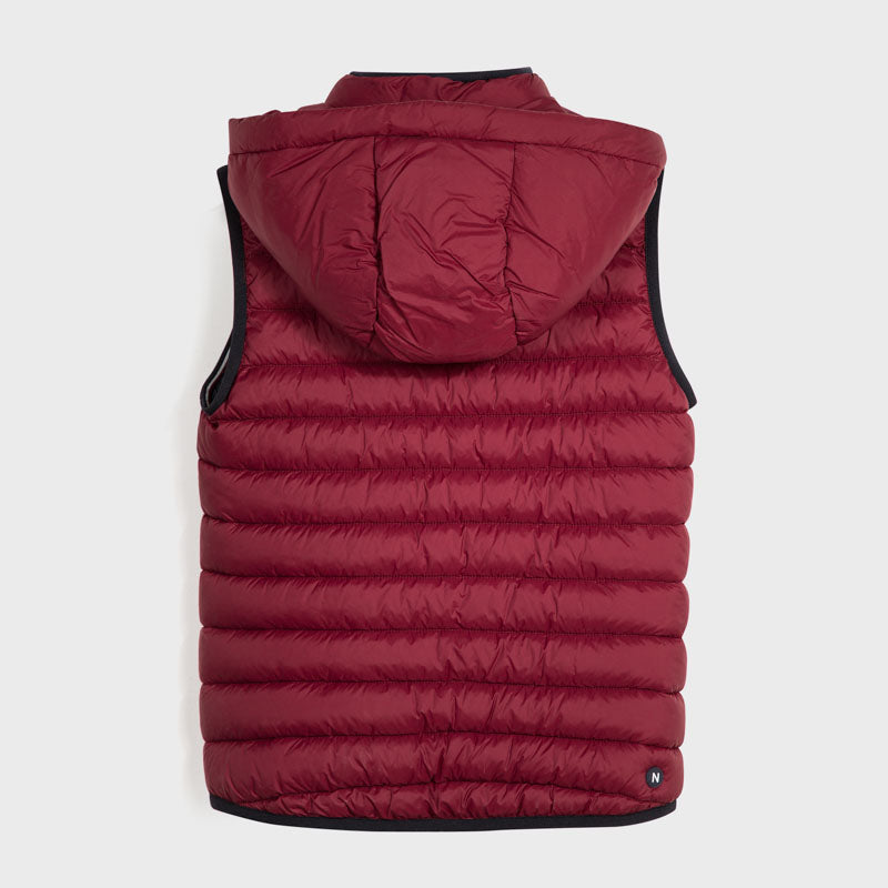Thermal Quilted Channel Vest w/Hood