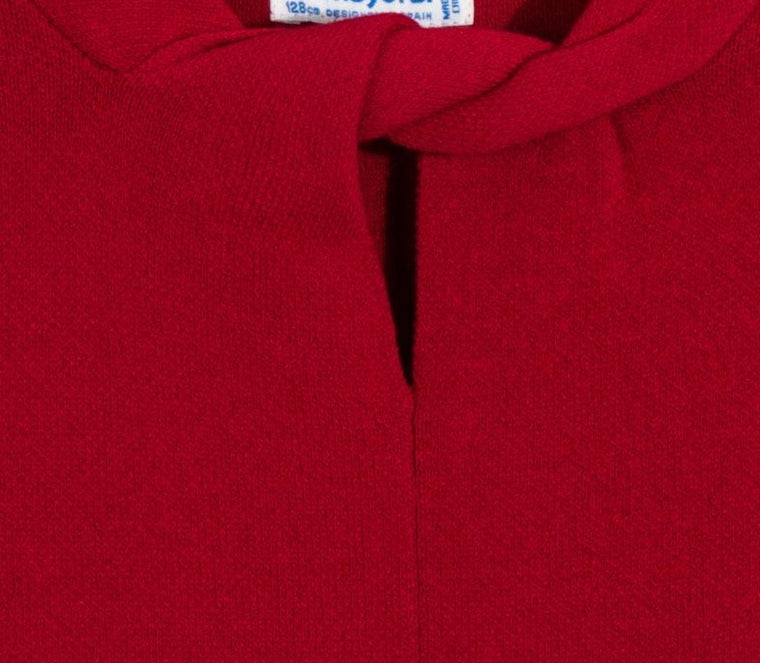 Adrian East online Flare Red Knit Dress