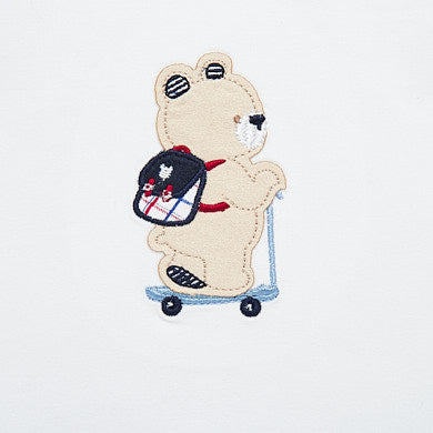 Bear on Scooter Onesie