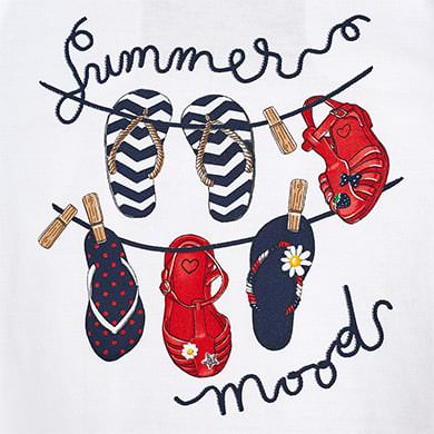 Summer Moods Top w/ Shorts