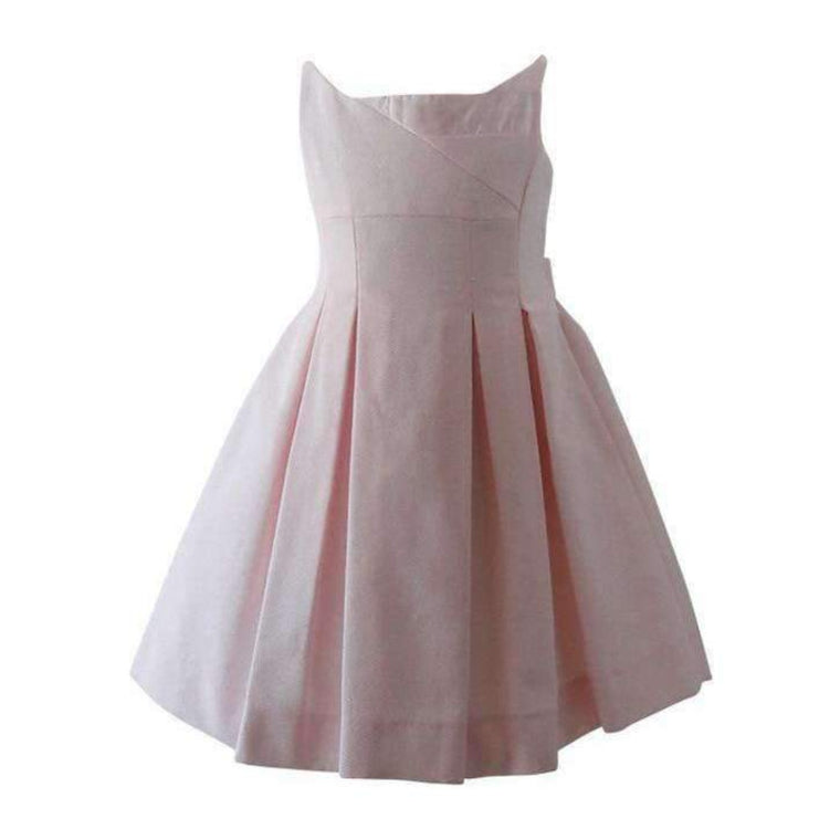 Adrian East online Girls Pique Pink Dress