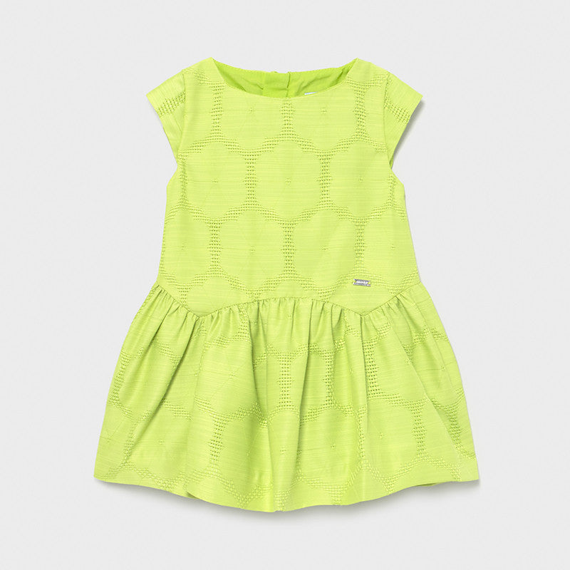 Pistachio Dropwaist Baby Dress