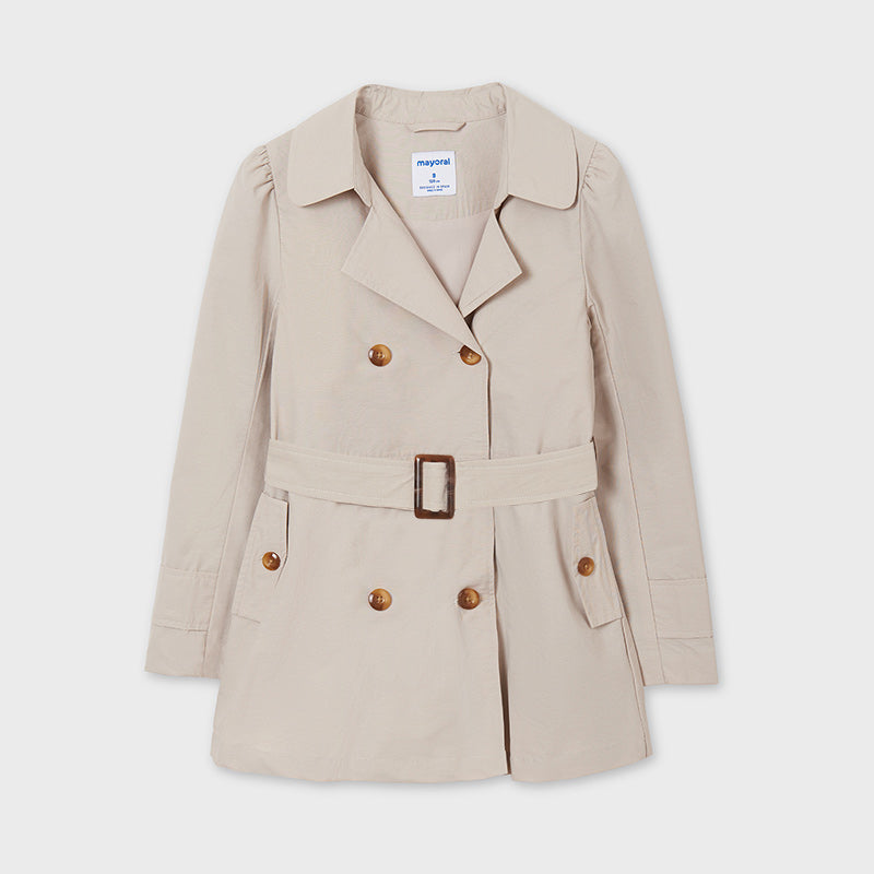 Classic Trench Coat w/ Belt