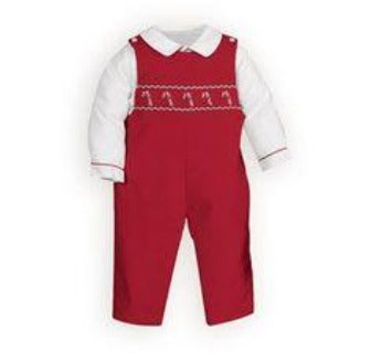 Adrian East online Red Smocked Candy Cane JonJon
