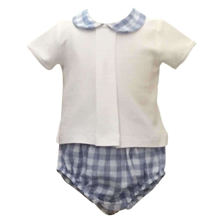 Adrian East online Gingham Short Set