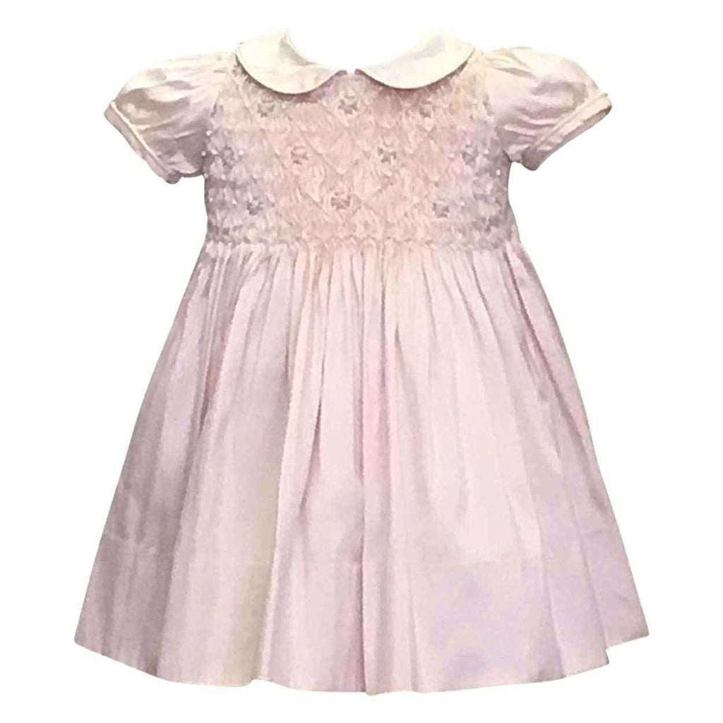Adrian East onlineSilk Dupioni Smocked Party Dress