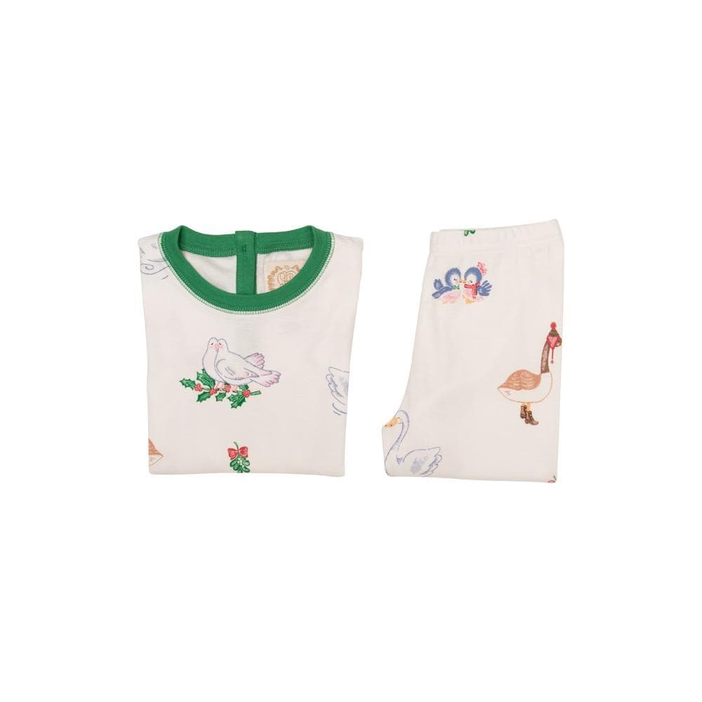 Mistletoe Print 2-PC PJ
