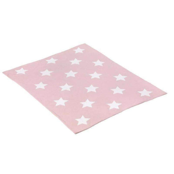 Adrian East online Reversible Stars Cotton Blanket