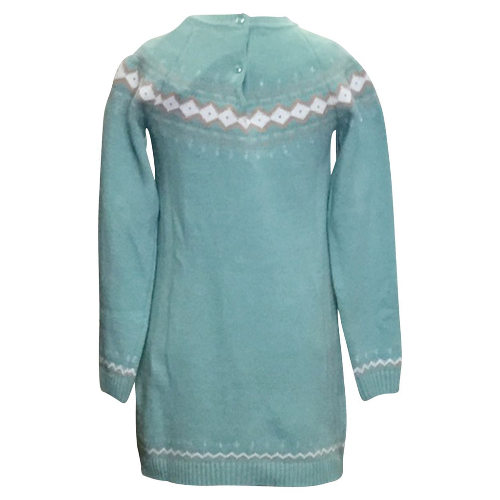 Mint Fairaisle Knit Dress