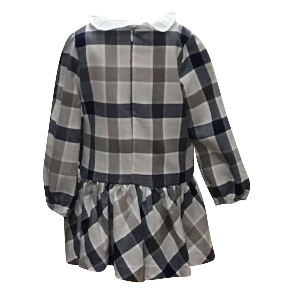 Burberry Style Plaid Dress