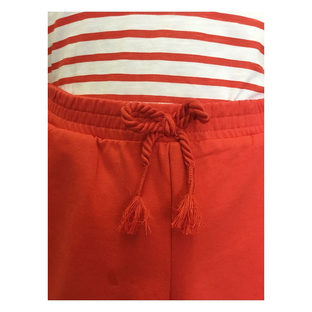 Rd & Wh Striped Shirt w/ Red Shorts