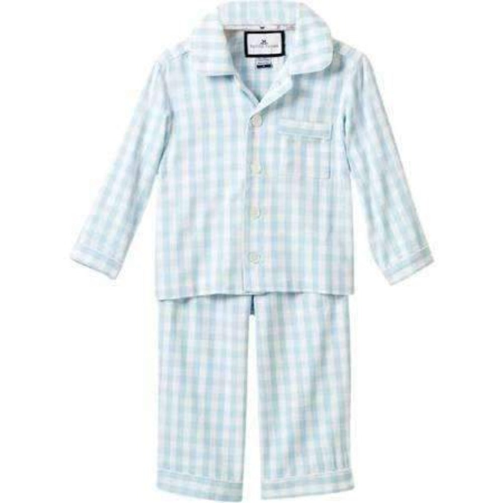 Boys Gingham Pajama Set