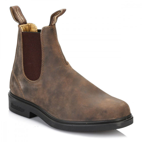 Blundstone 1306 Rustic Brown Premium Leather Classic Chelsea Boots Australia - BOOTSANDLEATHER