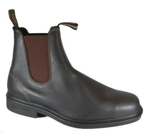 Blundstone 062 Stout  Brown Premium Leather Classic Boots Australia - BOOTSANDLEATHER
