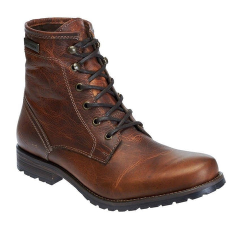 Harley Davidson Boots Genuine Jutland Leather  Mens Biker Brown Boots Moto High - BOOTSANDLEATHER