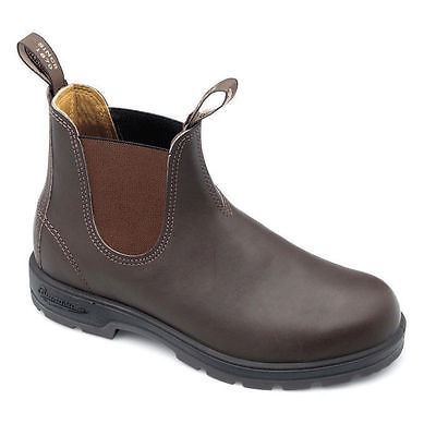 Blundstone 550 Brown Tan Premium Quality Leather Classic Chelsea Boots Australia - BOOTSANDLEATHER