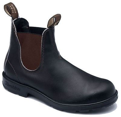 Blundstone 500 Stout Chisel Toe Brown Premium Leather Classic Boots Australia - BOOTSANDLEATHER