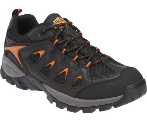 Harley Davidson Eastfield Black Leather Waterproof Men'S Athletic Hiking Shoes - BOOTSANDLEATHER