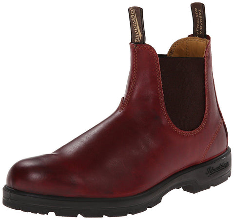 Blundstone 1440 Red Premium Leather Classic Chelsea Boots Australia - BOOTSANDLEATHER