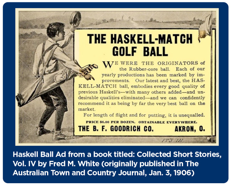History of the Golf Ball - Part Three - The Birth of the Modern Golf Ball - Sort Of