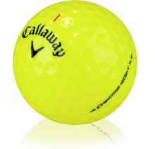 Callaway Chrome Soft X White/Yellow/Triple Track
