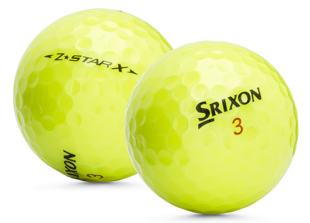 Srixon Z-Star X Yellow