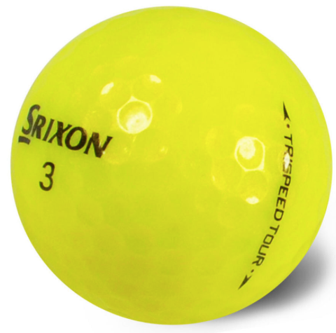 Srixon TriSpeed Yellow