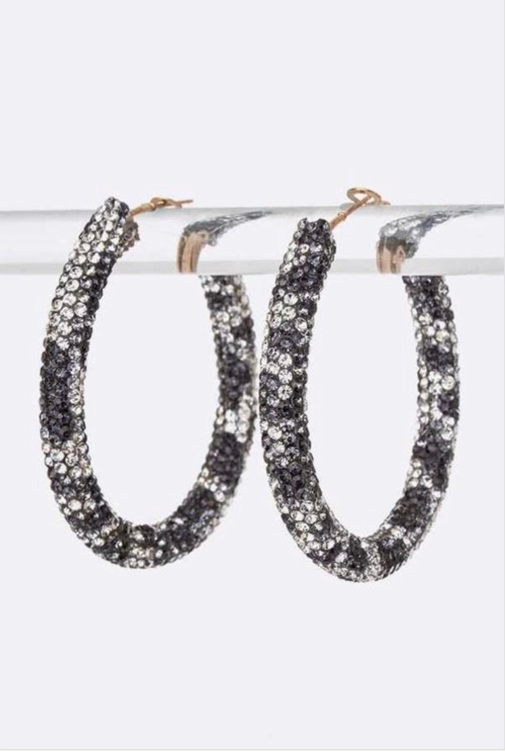 Luxe Crystal Hoops Set - EnChantes Closet Plus Size Boutique