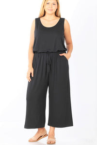 Misti Jumpsuit In Black - EnChantes Closet Plus Size Boutique
