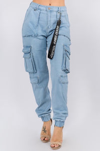 Good Vibes Jogger Jeans - EnChantes Closet Plus Size Boutique