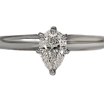 pear shaped diamond ring in pittsburgh