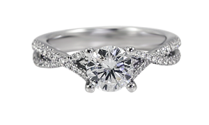 639271-intertwined-band-engagement-ring