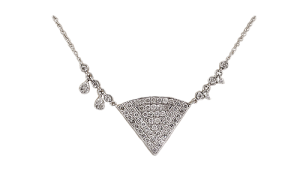 pittsburgh diamond necklace image