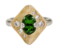 pittsburgh emerald ring image