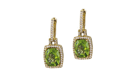 green earrings Pittsburgh image