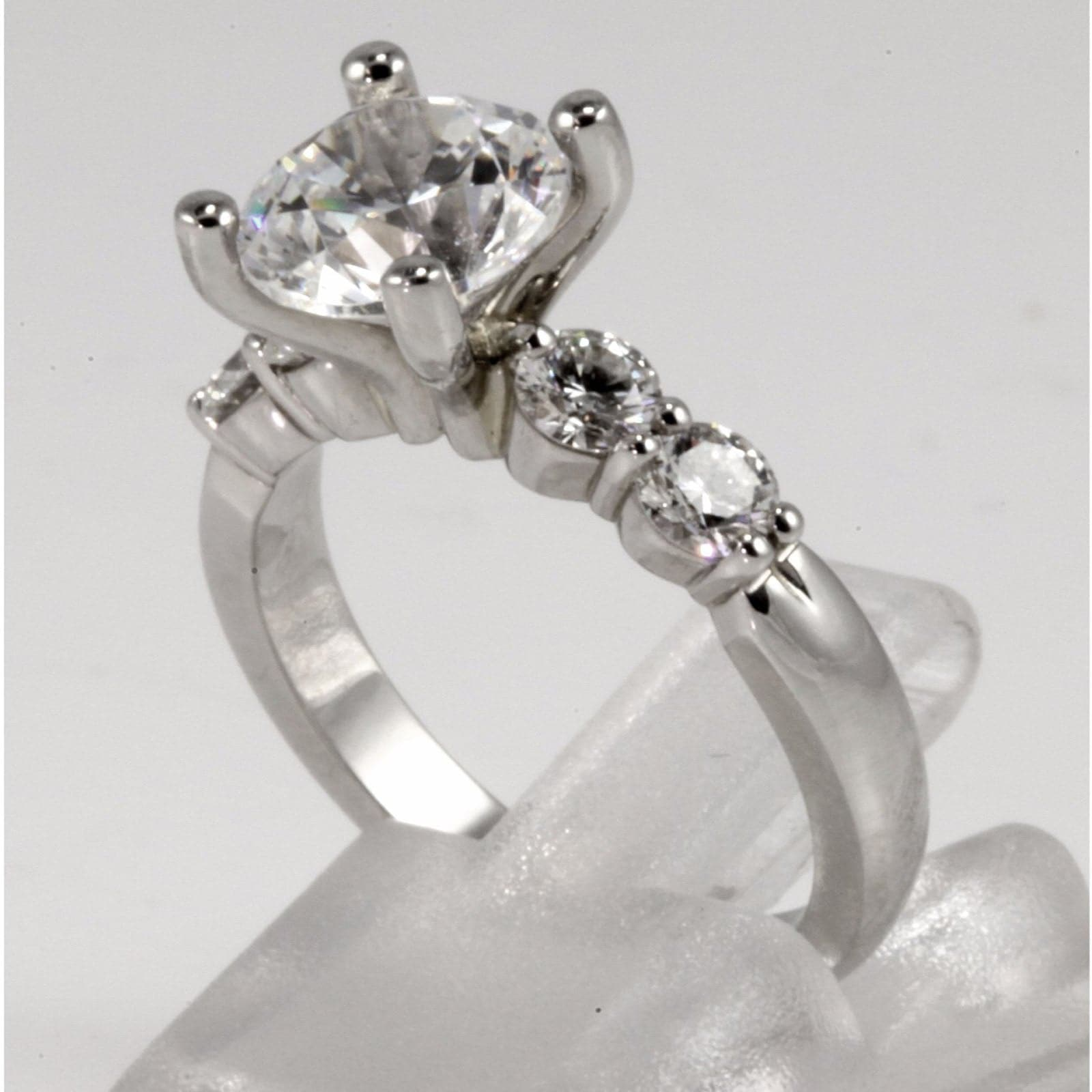 prong two london band milgrain shared by eternity engagement rings diamond