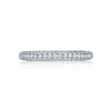 Tacori Platinum Classic Crescent Diamond Eternity Band