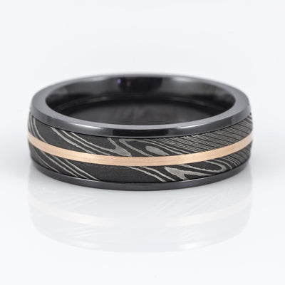 Lashbrook Design Zirconium 7mm Wedding Band
