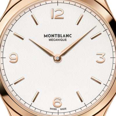 38mm Mont Blanc Heritage Mechanical Wind Watch