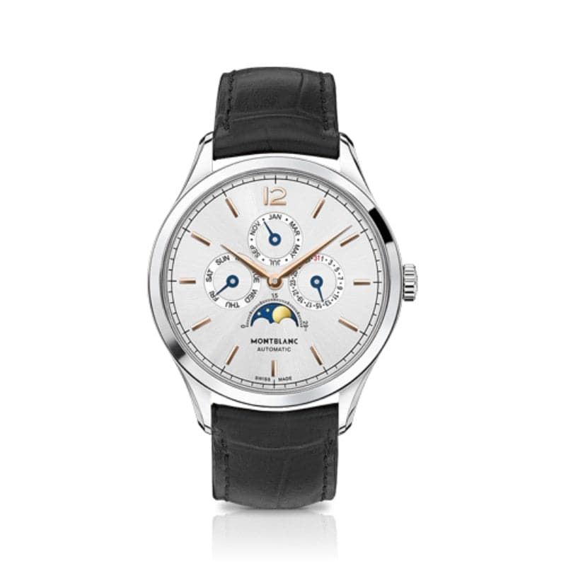 40mm Mont Blanc Heritage Annual Calender Automatic Watch