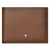 Mont Blanc Brown Leather Wallet